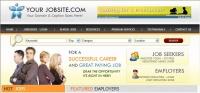 RecruitPro Job site Software Screen shot