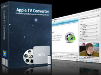 <p> 	Dieser leistungsstarke Apple TV Converter unterstützt die Umwandlung von HD Videos, AVI, MPEG, DivX, VOB, FLV, Youtube, Flash, WMV, XviD, MOV, AVCHD, TS, M2TS, MOD, ASF, VCD(dat), MPG, 3G2, DVR-MS, MP4, 3GP, RMVB, uvm. in TV Box (MP4, H.264) bis zu High-Definition HD 720p/1280x720. Er kann auch Dateien in Apple TV Audioformate (MP3, AAC, WAV) konvertieren.</p>