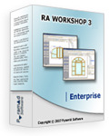 <p> 	Ra Workshop Enterprise is the client/server edition of Ra Workshop. This package contains one Ra Workshop Server and five server connection licenses Ra Workshop CALs and can be used with any of the Ra Workshop editions.</p>