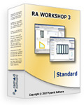 <p> 	Ra Workshop Standard is the basic windows and doors production software edition. It has all the production reports but is limited to compute only rectangular windows and doors. Also, Ra Workshop Standard Edition does not include cutting optimization. This can be purchased as an Add On.</p>