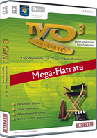 15% Discount Coupon code for TVO 3 Mega-Flatrate (Upgrade)