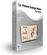 Picture Collage Maker for Mac Commercial Screen shot
