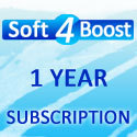 Soft4Boost 1 Year Subscription