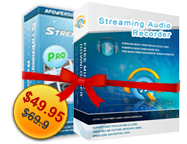 Streaming Video Recorder + Streaming Audio Recorder Personal License Screen shot