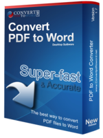 Convert PDF to Word Desktop Software Free Download