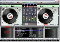 Virtual DJ Deck II - Turntable Mixing Studio for PC Screen shot
