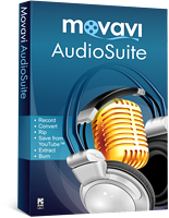 <p>Movavi AudioSuite brings together SIX essential processing tools for music lovers in a single package. Convert audio files between all formats and for any devices. Rip audio CDs. Record audio from microphones and other sound card inputs. Save soundtracks from YouTube and other video-sharing websites. Extract audio from any video. Burn audio CDs.</p>