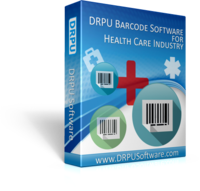 DRPU Healthcare Industry Barcode Label Maker Software Screen shot