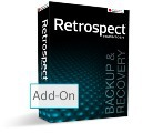 Retrospect Open File Backup for Windows OS with ASM, MAC 9.0 Screen shot