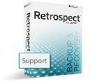 ASM for Retrospect Open File Backup Unlimited Add-on WIN 7.6/7.7 Screen shot