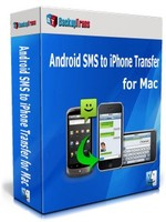 cheap Backuptrans Android SMS to iPhone Transfer for Mac (Family Edition)