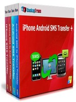 Backuptrans iPhone Android SMS Transfer + (Family Edition) discount coupon