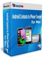 Backuptrans Android Contacts to iPhone Transfer for Mac (Personal Edition) discount coupon