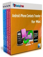 Backuptrans Android iPhone Contacts Transfer + for Mac (Personal Edition) discount coupon