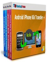 Backuptrans Android iPhone Kik Transfer + (Personal Edition)