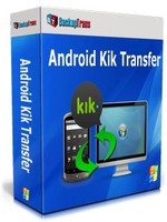 Backuptrans Android Kik Transfer (Personal Edition) discount coupon