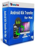 Backuptrans Android Kik Transfer for Mac (Personal Edition) discount coupon