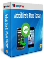 Backuptrans Android Line to iPhone Transfer (Personal Edition)