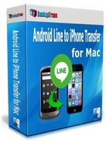 Backuptrans Android Line to iPhone Transfer for Mac (Personal Edition)