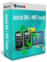 Backuptrans Android SMS + MMS Transfer (Personal Edition) discount coupon