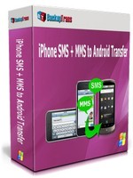 Backuptrans iPhone SMS + MMS to Android Transfer (One-Time Usage)
