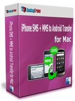 Backuptrans iPhone SMS + MMS to Android Transfer for Mac (One-Time Usage) discount coupon