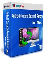 Backuptrans Android Contacts Backup & Restore for Mac (Family Edition)