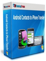 Backuptrans Android Contacts to iPhone Transfer (Family Edition) discount coupon