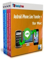 Backuptrans Android iPhone Line Transfer + for Mac (Family Edition)