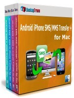 Backuptrans Android iPhone SMS/MMS Transfer + for Mac (Family Edition) discount coupon