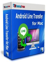 cheap Backuptrans Android Line Transfer for Mac (Family Edition)