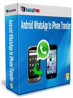 Backuptrans Android WhatsApp to iPhone Transfer (Family Edition) discount coupon