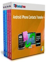 Backuptrans Android iPhone Contacts Transfer + (Business Edition) discount coupon