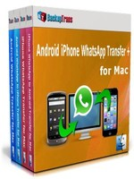 Backuptrans Android iPhone WhatsApp Transfer + for Mac(Business Edition) discount coupon