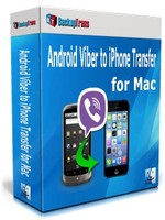 Backuptrans Android Viber to iPhone Transfer for Mac (Business Edition) discount coupon