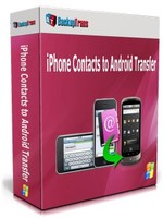 cheap Backuptrans iPhone Contacts to Android Transfer (One-Time Usage)