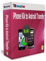 Backuptrans iPhone Kik to Android Transfer (Business Edition) discount coupon