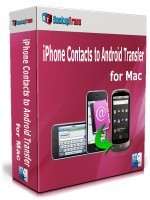 Backuptrans iPhone Contacts Backup & Restore for Mac (Family Edition)