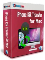 Backuptrans iPhone Kik Transfer for Mac (Family Edition) discount coupon