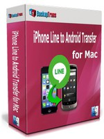 [>15% Off Coupon code] Backuptrans iPhone Line to Android Transfer for Mac (Family Edition)