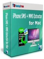 Backuptrans iPhone SMS + MMS Extractor for Mac (Family Edition) coupon code