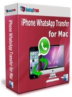 Backuptrans iPhone WhatsApp Transfer for Mac (Family Edition) discount coupon
