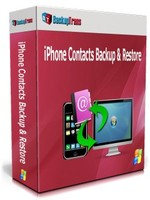 Backuptrans iPhone Contacts Backup & Restore (Personal Edition) discount coupon