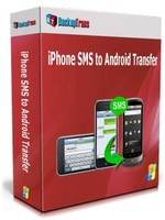 Backuptrans iPhone SMS to Android Transfer (Personal Edition) discount coupon
