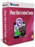 Backuptrans iPhone Viber to Android Transfer (Personal Edition) discount coupon