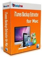 cheap Backuptrans iTunes Backup Extractor for Mac (Personal Edition)