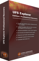 Discount code of UFS Explorer Professional Recovery (version 5 for Windows) - Personal License
