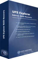 Discount code of UFS Explorer RAID Recovery (version 5 for Windows) - Personal License
