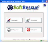 SoftRescue Home Edition Screen shot
