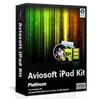 <p> 	Aviosoft iPad Kit Platinum collect multi-function in one, Which it can let you to make anything you want. It contain convert, backup, download, edit and manage DVD, Music, exciting online video, movies, photo function.  With this comprehensive set of tools, you can enjoy your favourite DVD collections, share funny Youtube video, ring your special ringtone on your iPad device with proper video, music, photo formats.</p>